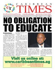 Caribbean Times 48th Issue - Monday 11th July 2016