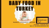 BABY FOOD IN TURKEY