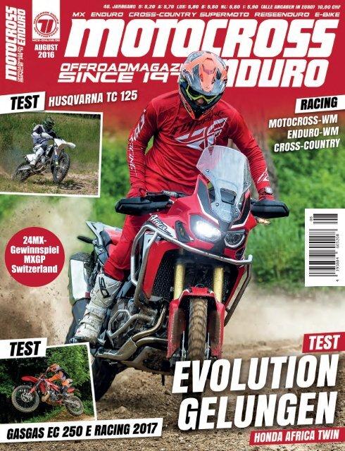 Motocross Enduro Ausgabe 8/2016