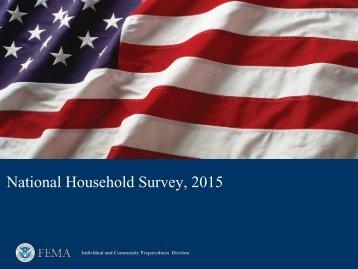 National Household Survey 2015