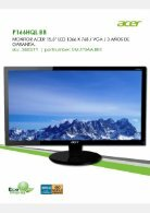 Acer Monitores - Page 2