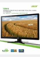 Acer Monitores - Page 5