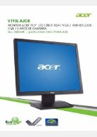 Acer Monitores - Page 6