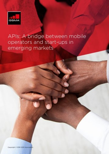 APIs A bridge between mobile operators and start-ups in emerging markets