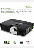 Acer Proyector - Page 5