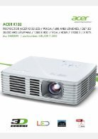 Acer Proyector - Page 7