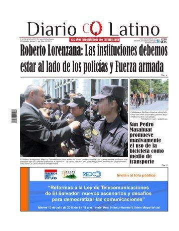Edición 11 de Julio de 2016