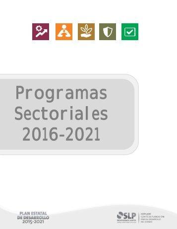 Programas Sectoriales Completo