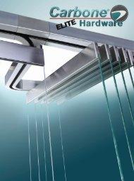 Catálogo de Elite Hardware para Vidrio Templado