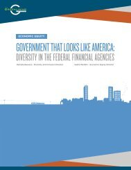 GOVERNMENT THAT LOOKS LIKE AMERICA