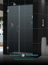 Catálogo Puertas de baños y Hardware para baños