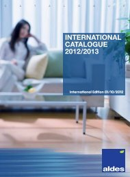 Aldes International Catalogue 2012 ENG