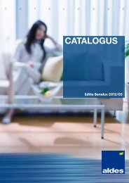 Aldes International Catalogus 2012 NL