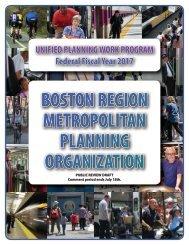 BOSTON REGION METROPOLITAN PLANNING ORGANIZATION