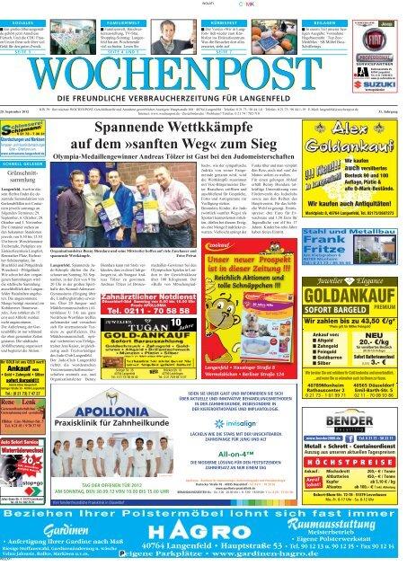 Langenfeld 39-12 - Wochenpost