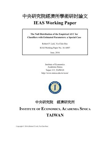 working Papers