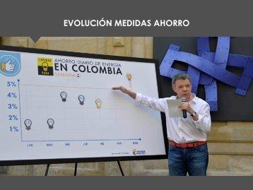EVOLUCIÓN MEDIDAS AHORRO