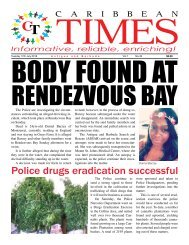 Caribbean Times 49th Issue - Tuesday 12th July 2016