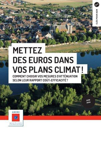 METTEZ DES EUROS DANS VOS PLANS CLIMAT !