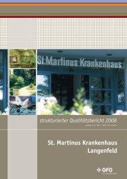 St. Martinus Krankenhaus Langenfeld - Weisse Liste