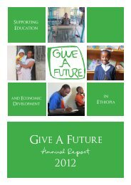 Give A Future Annual Report 59948 OUT