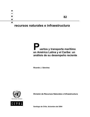 Puertos y transporte marítimo en América Latina y el Caribe ... - Cepal