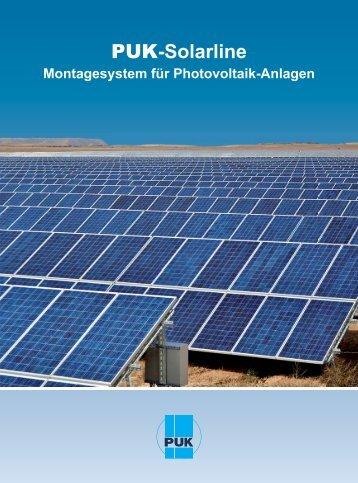 PUK-Solarline - PUK Benelux BV