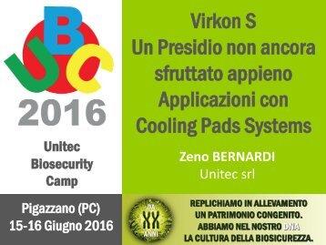 Un Presidio non ancora sfruttato appieno Applicazioni con Cooling Pads Systems
