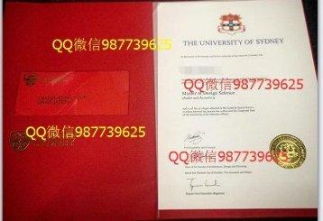 USYD毕业证【QQ微信987739625办澳洲毕业证】悉尼大学毕业证