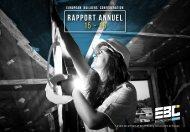 rapport annuel 15 - 16