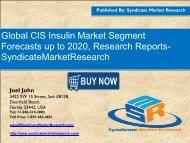 CIS Insulin Market