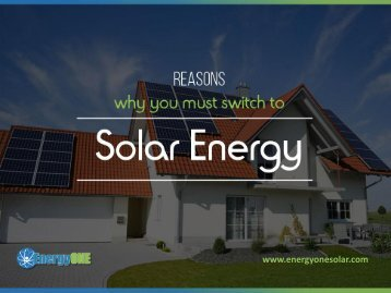 Why Solar Energy is the Future of Electricity