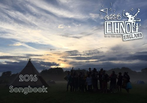 Ethno England 2016 Songbook Complete