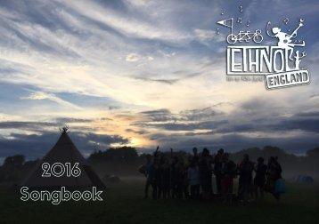 Ethno England 2016 Songbook