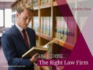 Guide to Choose the Right Law Firm in Windsor UK