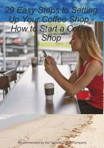 Start a coffee sshop