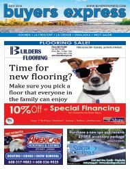 Buyers Express - La Crosse Edition - July 2016