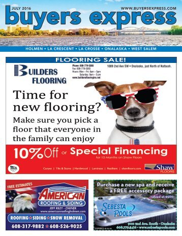 Buyers Express - La Crosse Edition - July 2016
