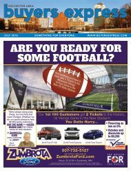 Buyers Express - Rochester Edition - July 2016