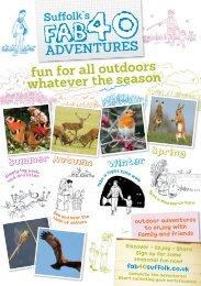 Suffolk's Fab 40 Adventures