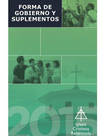 FORMA DE GOBIERNO y suplEMENtOs
