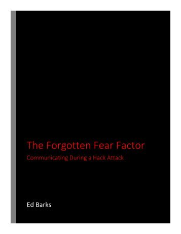 The Forgotten Fear Factor