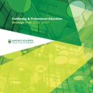 Continuing & Professional Education Strategic Plan 2015-2020