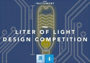 LITER OF LIGHT DESIGN COMPETITION