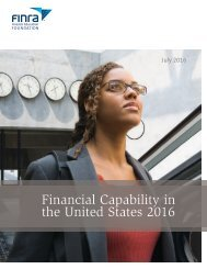 Financial Capability in the United States 2016