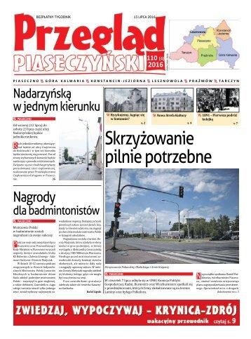 Przegląd Piaseczyński, Wydanie 110