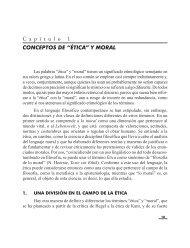conceptos de etica y moral