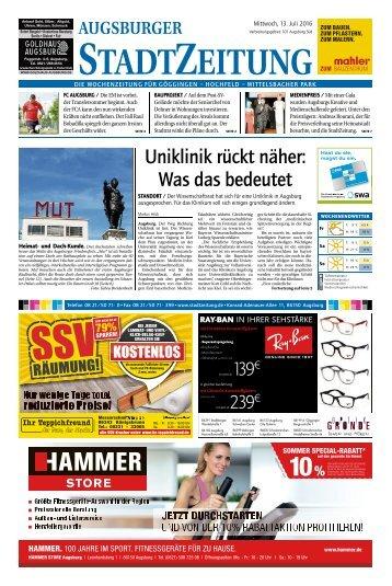 101 Augsburg - Süd 13.07.2016