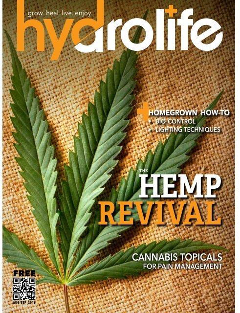 Hydrolife Magazine August/September 2016 (USA Edition)