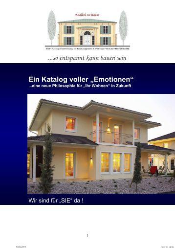 Katalog voller Emotionen 2016